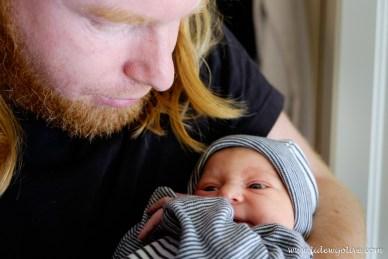 Papa en dochter