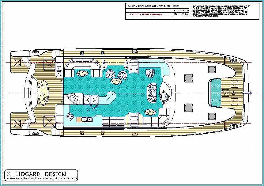 Plans Power Catamaran Hull