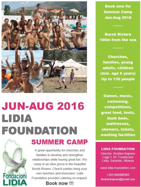Summer Camp 2016 Poster Image