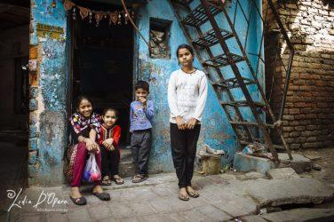 New Delhi Slum-M91019603