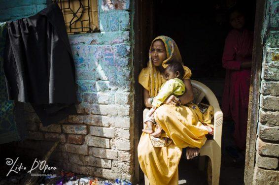 New Delhi Slum-M91019741
