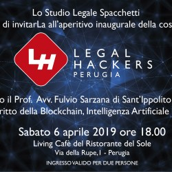 Legal Hackers - Perugia INVITO  6.4.2019