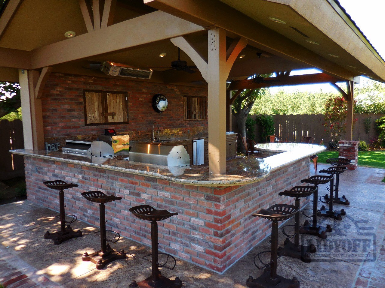 Outdoor Kitchens | Lidyoff Landscaping Development Co. on Patio Kitchen id=31517