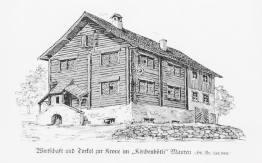 """Gasthaus """"Zur Krone"""" im Kirchenbot"""