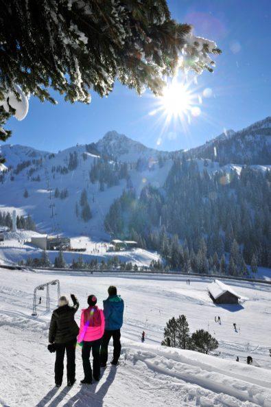 Malbun Winter Schneeflucht