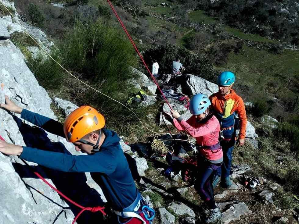 curso escalada deportiva Cantabria