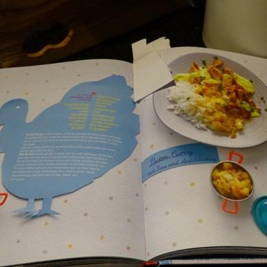 Heute kochen wir was kräftiges aus dem Geburtstagsgeschenk Kochbuch von Mosi. Ein leckeres Curry.