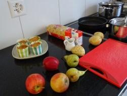 Heute gibt es Älpler Makkronnen und Zitronenkuchen.
