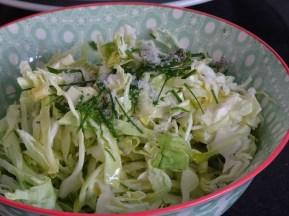 Weisskabis Salat. Eine wahre Vitamin C Bombe!