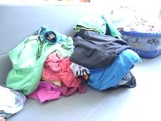 wäsche berg