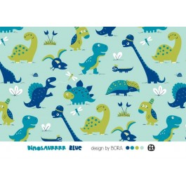 Dinosurrrr, blue, Jersey