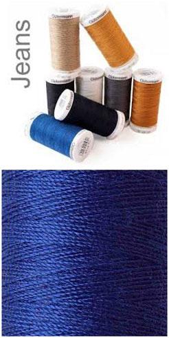 Gütermann Jeansfaden blau