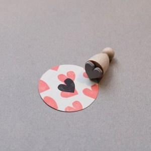 Perlenfischer Stempel Sweetheart big E068