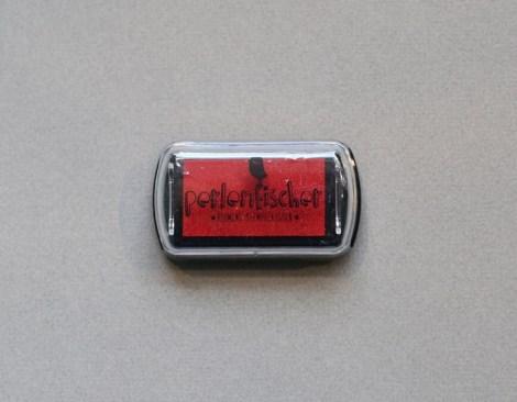 Perlenfischer Stempelkissen Rot 22041
