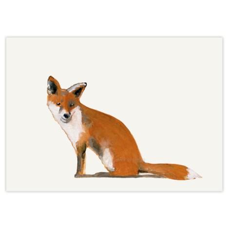 Stokwolf Postkarte Fuchs STK-BO-03