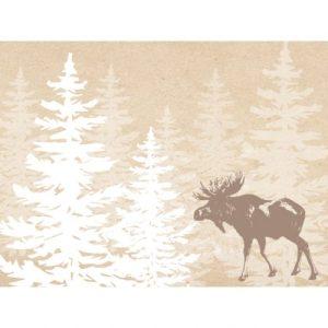 Waldgraefin Postkarte Elch 15020