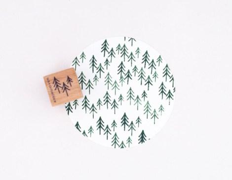 Stempel | Tannenwald klein