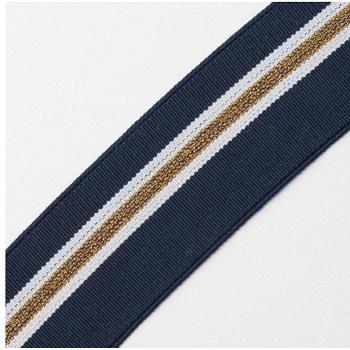 Welti Elastband soft mit Streifen 40mm V2020PAX-40-4