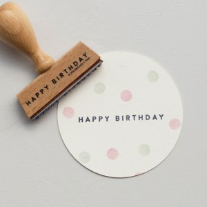 Stempel | Happy Birthday 5