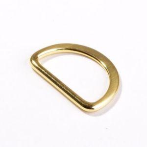 D-Ring 25mm aus Metall - Gold