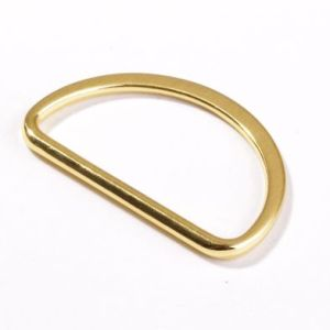 D Ring 40mm Gold