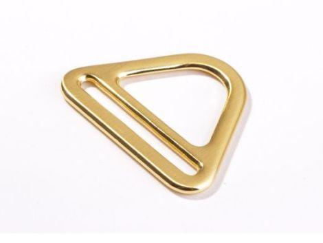 D Ring mit Steg 40mm gold