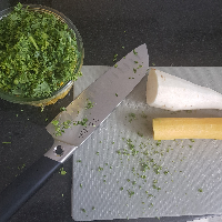 Mittagessen to be. Fried Rice gepimpt mit frischem Gemüse vom Lindenhof.