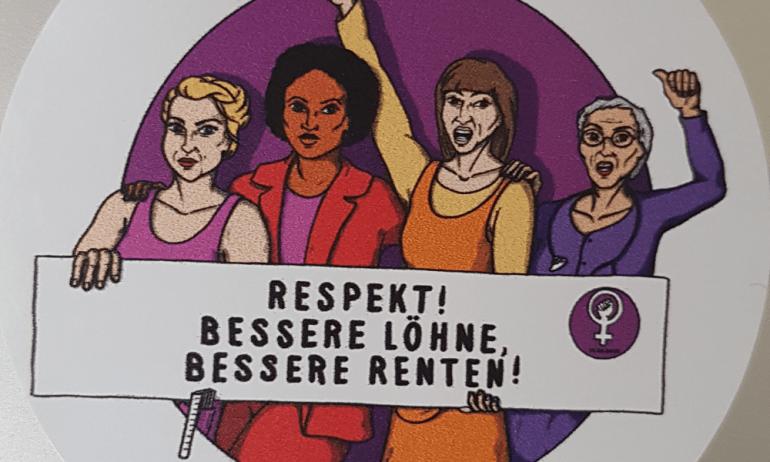 Am Montag, 14. Juni 2021 ist FrauenstreickTag!