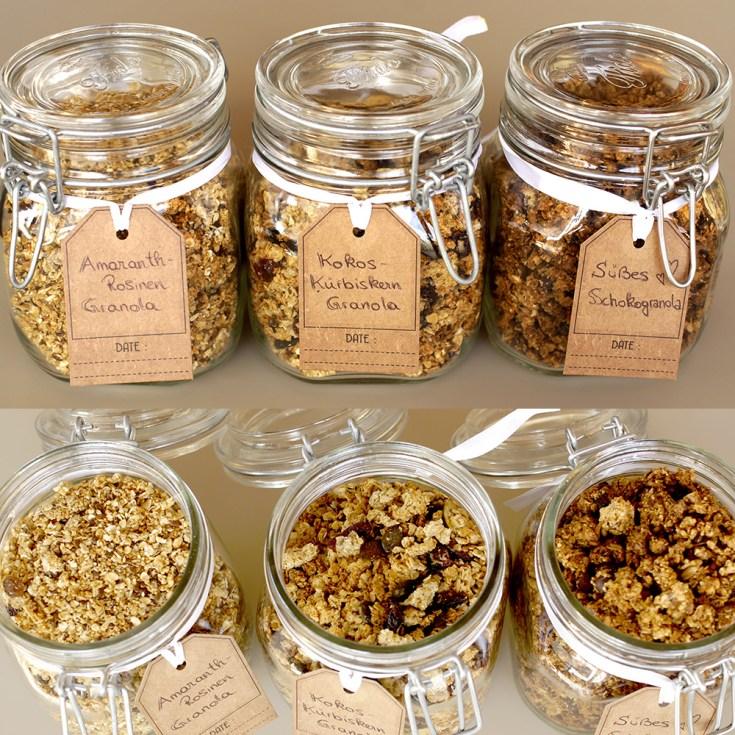 Granola selber machen | 3 einfache Rezepte