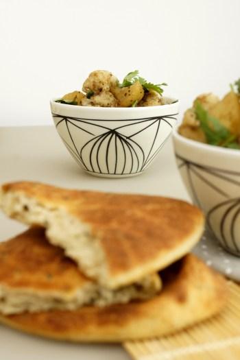 Aloo Gobi mit Kartoffeln