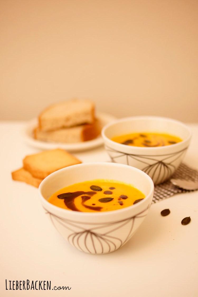 Kürbissuppe selber machen