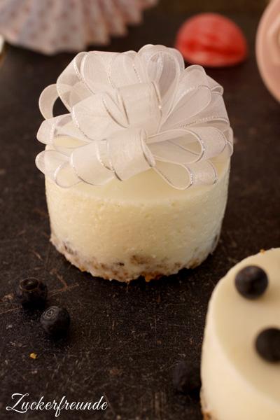 Joghurt Kokos Mini-Törtchen zum Löffeln
