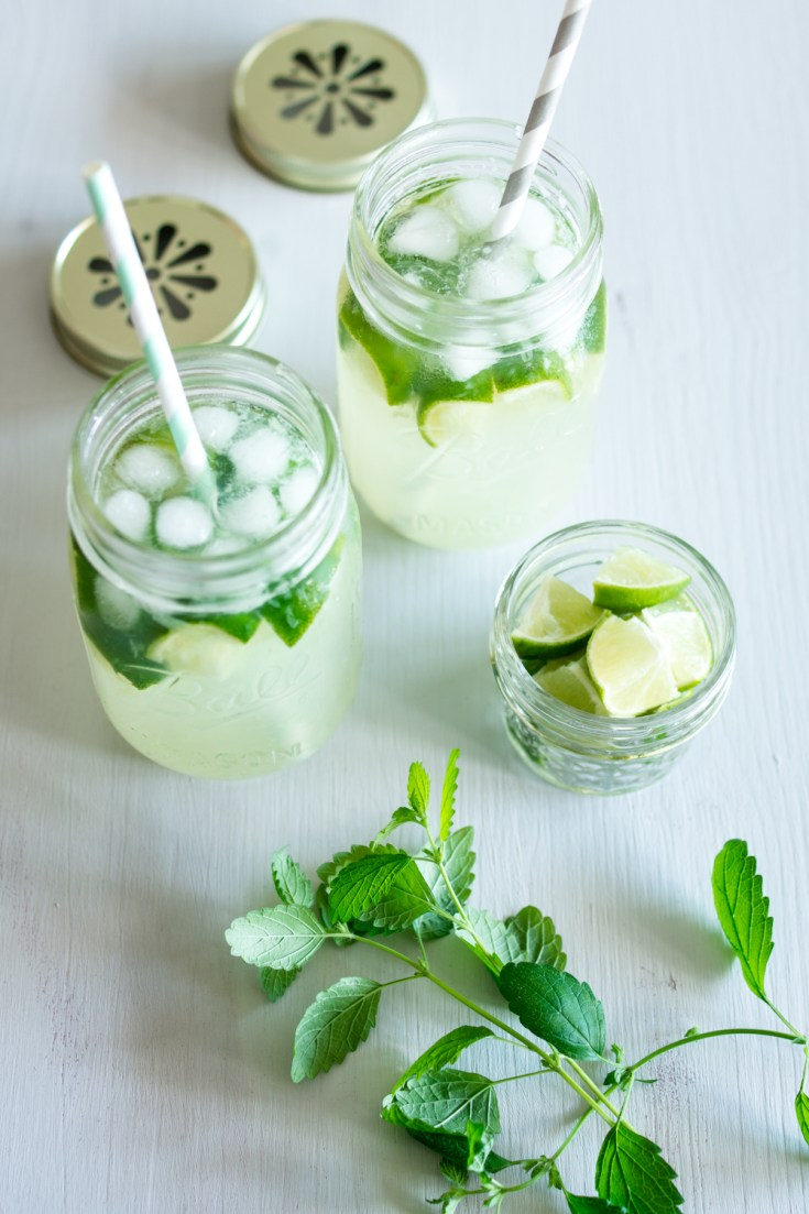 Limettendrink / No-Jito - Alkoholfreier Mojito