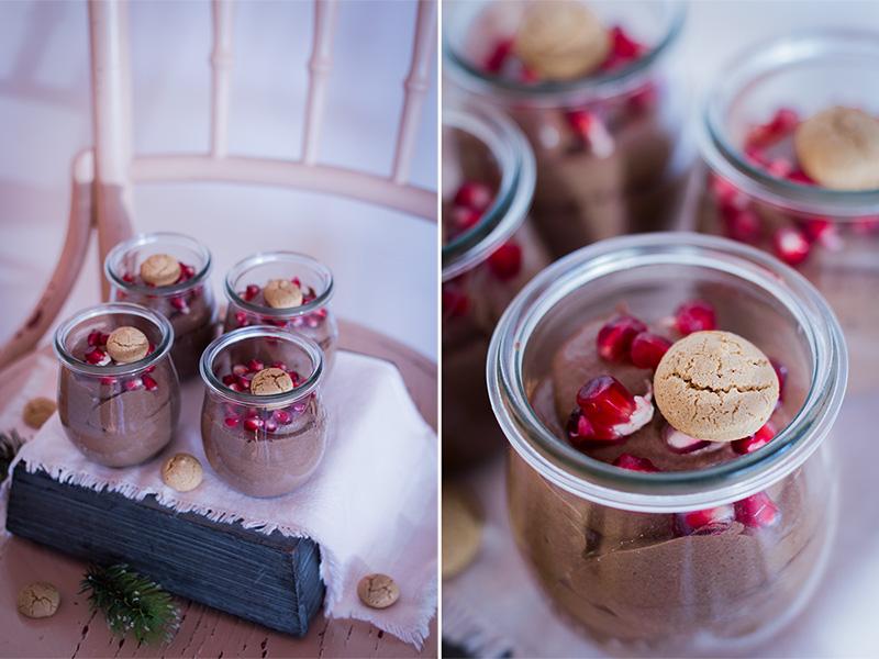 Schokocreme / Dessert im Glas
