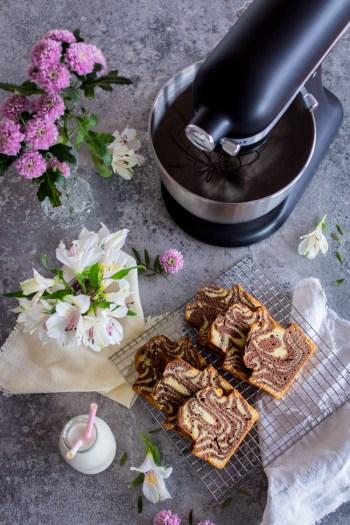 Marmorkuchen & KitchenAid Mini