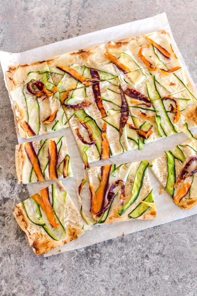 Schnelle Pizza aus Filoteig
