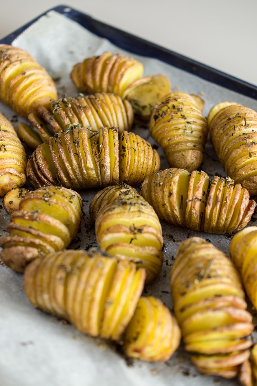Grillbeilage de luxe - Ofenkartoffeln