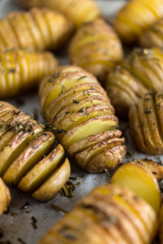 Leckere Hassleback Potatoes - einfaches Rezept