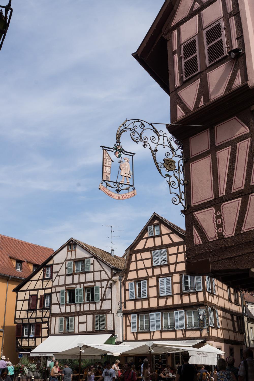 Die schöne Architektur in Colmar ist wirklich sehenswert.