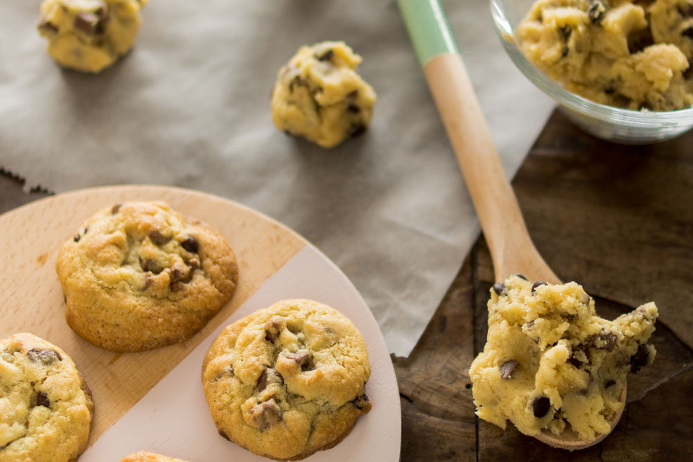 Chocolate Chip Cookies - super einfaches Rezept