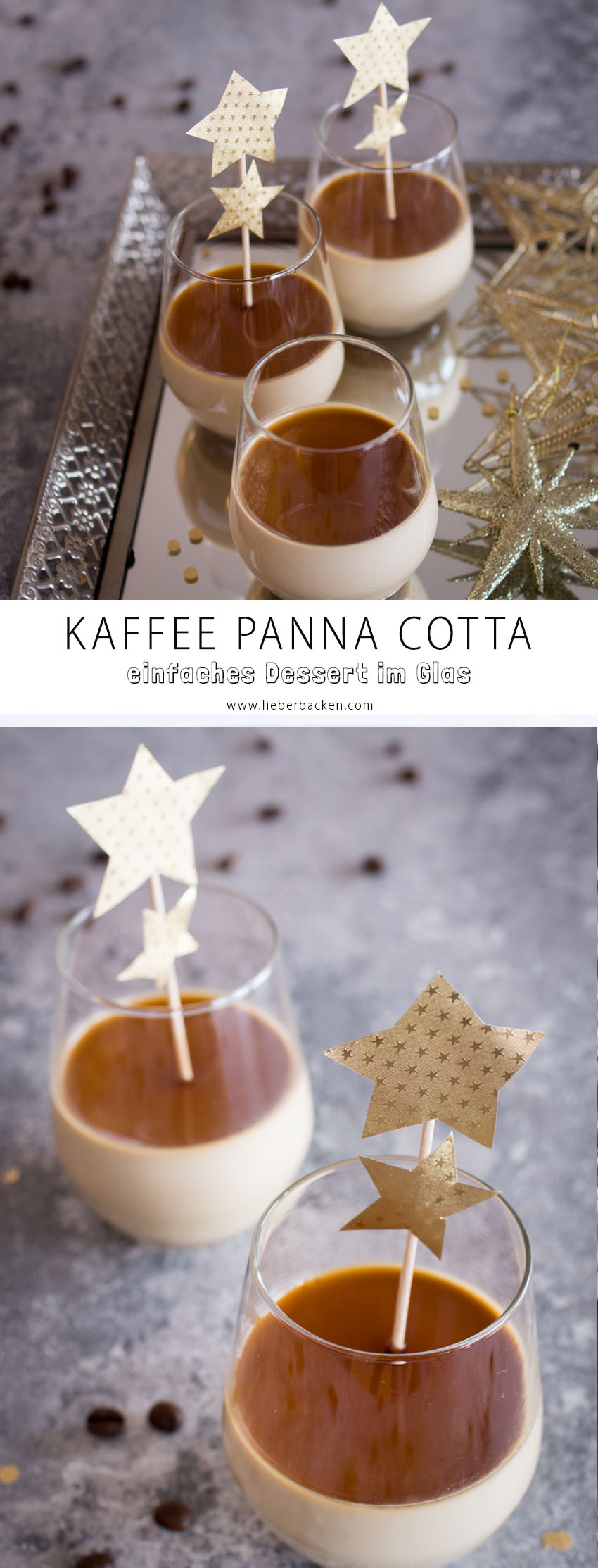 dessert im glas kaffee panna cotta in kooperation mit. Black Bedroom Furniture Sets. Home Design Ideas