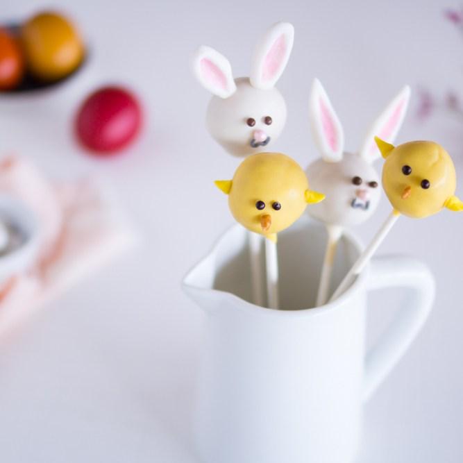 Cakepops Ostern: Hasen & Küken