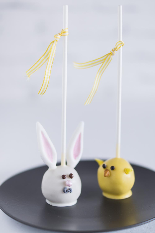 Cake Pops für Ostern: Hasen & Küken