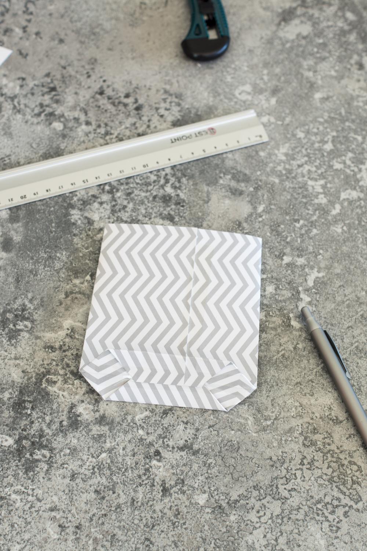Adventskaldender DIY - Tüten basteln - einfache Anleitung