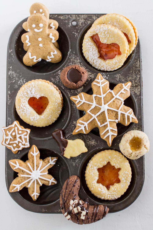 Weihnachtskekse - 5 Kekssorten für den Keksteller | Weihnachtskekse Rezepte