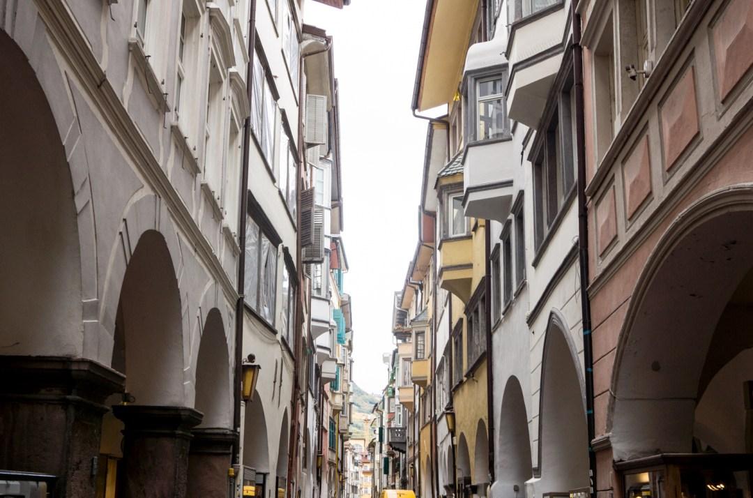 Laubengasse in Bozen | Guide für einen Kurztrip nach Südtirol: die besten Tipps und Sehenswürdigkeiten