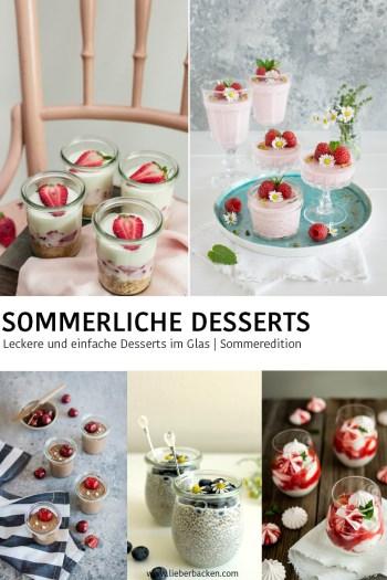 Sommerliche Desserts im Glas | Leckere und einfache Desserts zum Löffeln