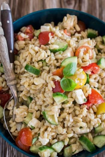 Griechischer Ebly-Salat | Kalter Salat für den Sommer | Einfaches Rezept