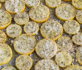 Parmesan-Zucchini aus dem Backrohr: schnelles Rezept