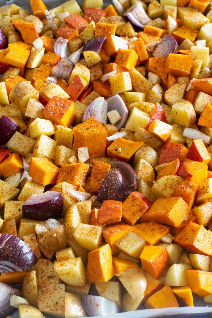 Blechgericht: Gemüse aus dem Ofen